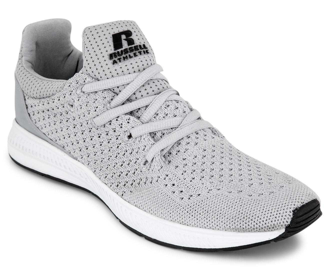 Russell Athletic Menu0026#39;s Zero Training Shoe - Grey/Black ...