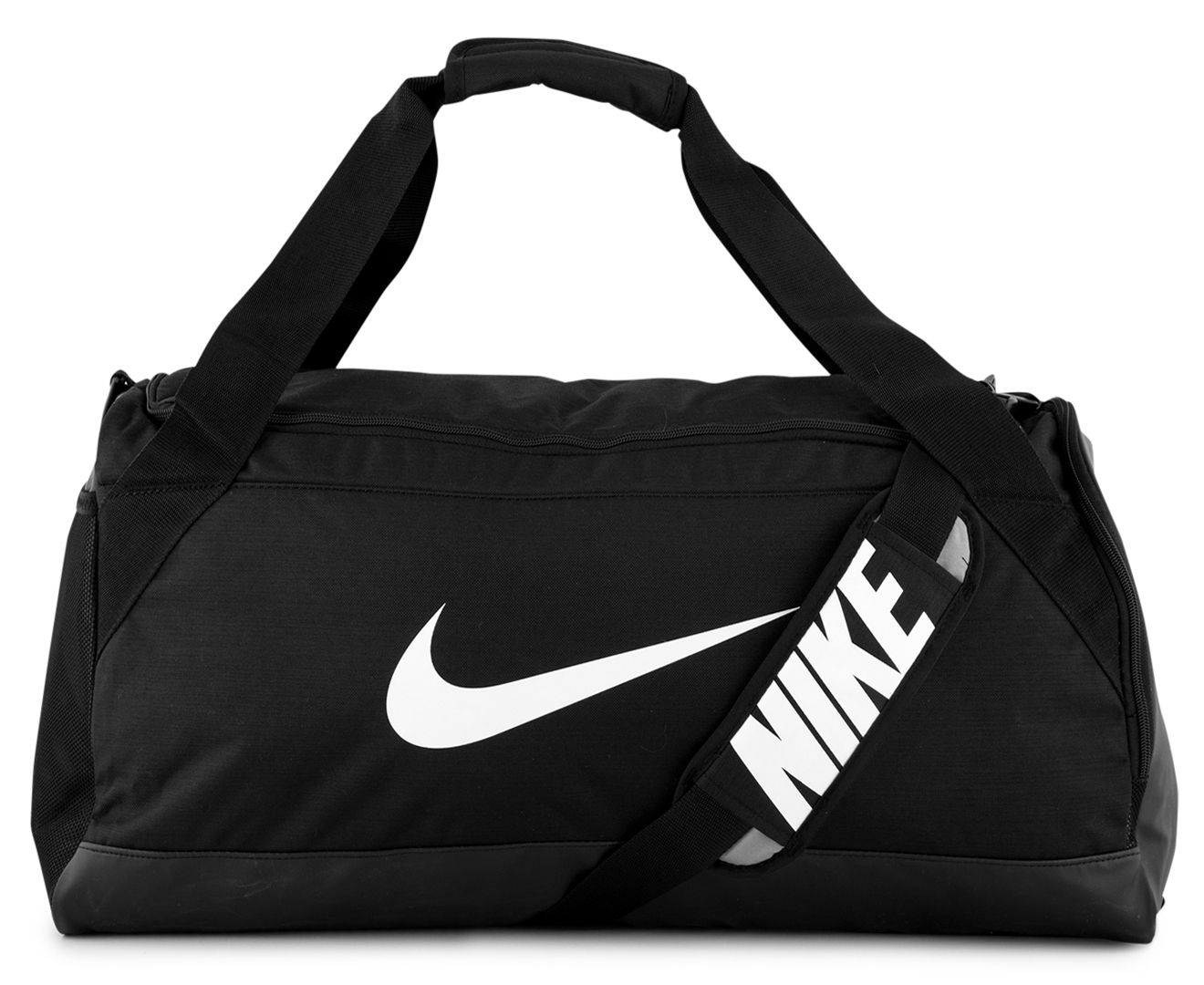 9e421a0cf64 Nike Brasilia Medium Duffle Bag - Black White