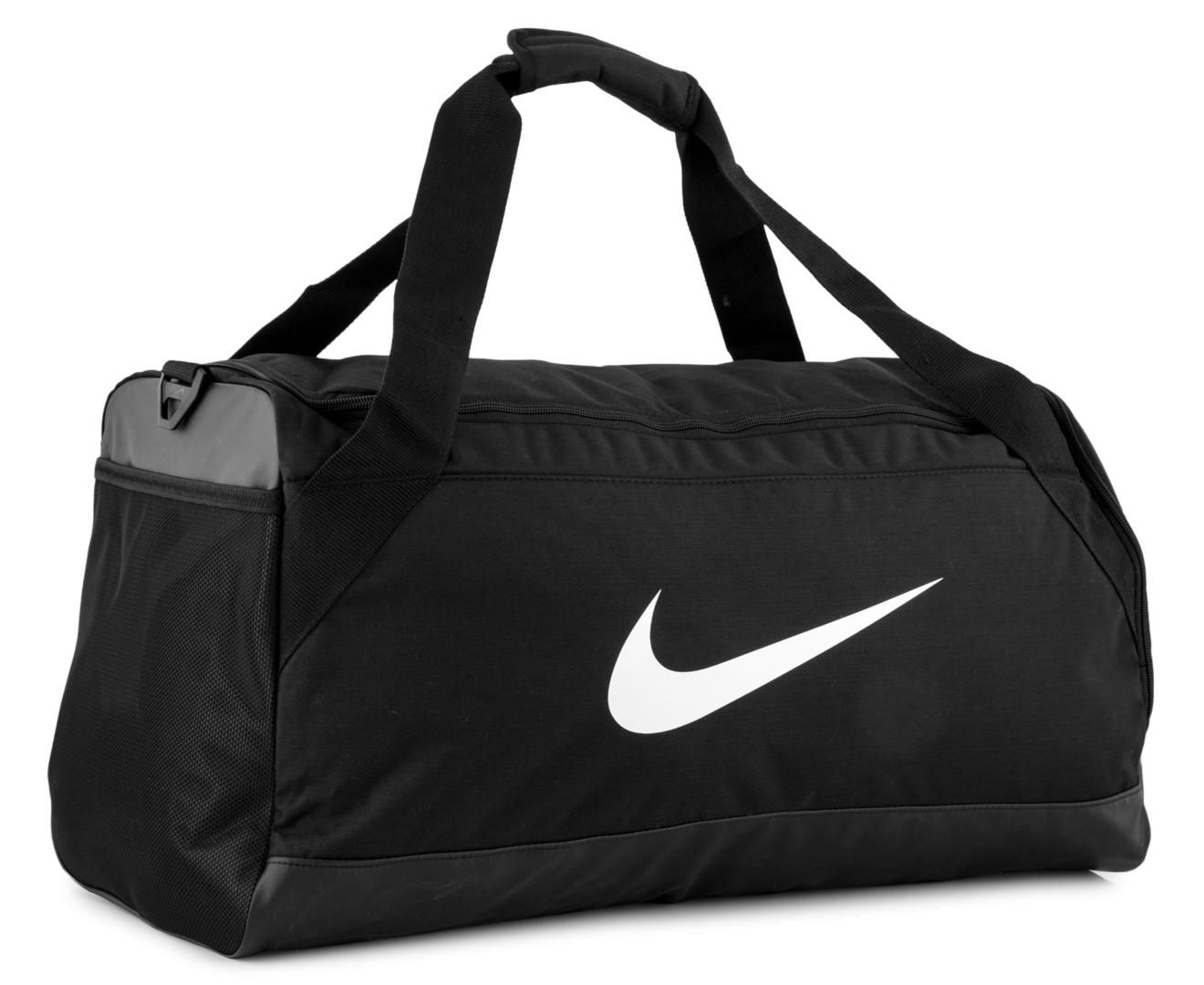 5265fadc2f183 Nike Brasilia Medium Duffle Bag - Black White