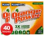 2 x Orange Power Laundry Powder Top/Front Loader 1kg 1