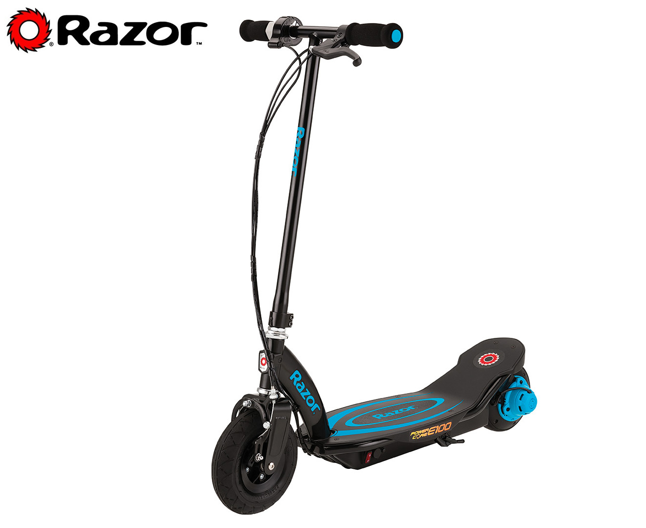 Razor Powercore E100 Electric Scooter Black Ebay