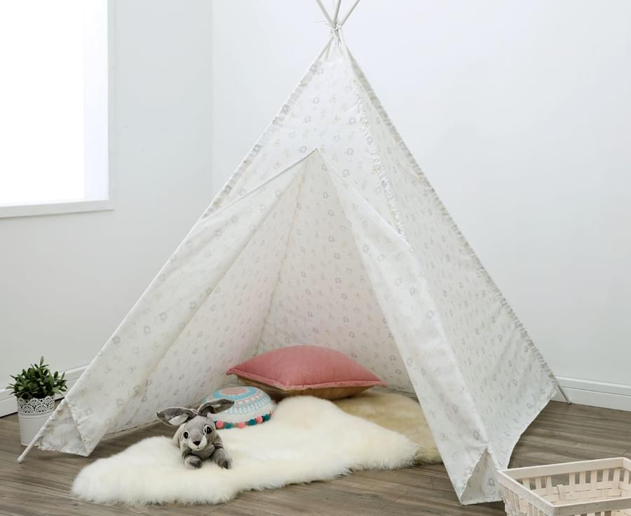 Happy Bear Teepee Tent