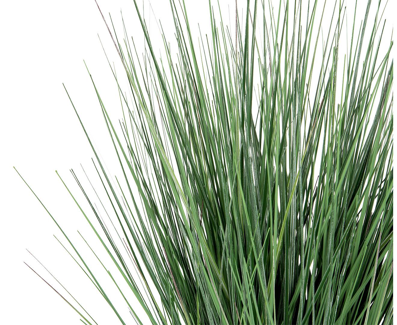 Botanica 56cm artificial pond grass plant spring green for Pond grass plants