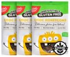 3 x Simply Wize Irresistible Gluten Free Choc Honeycomb 150g 1