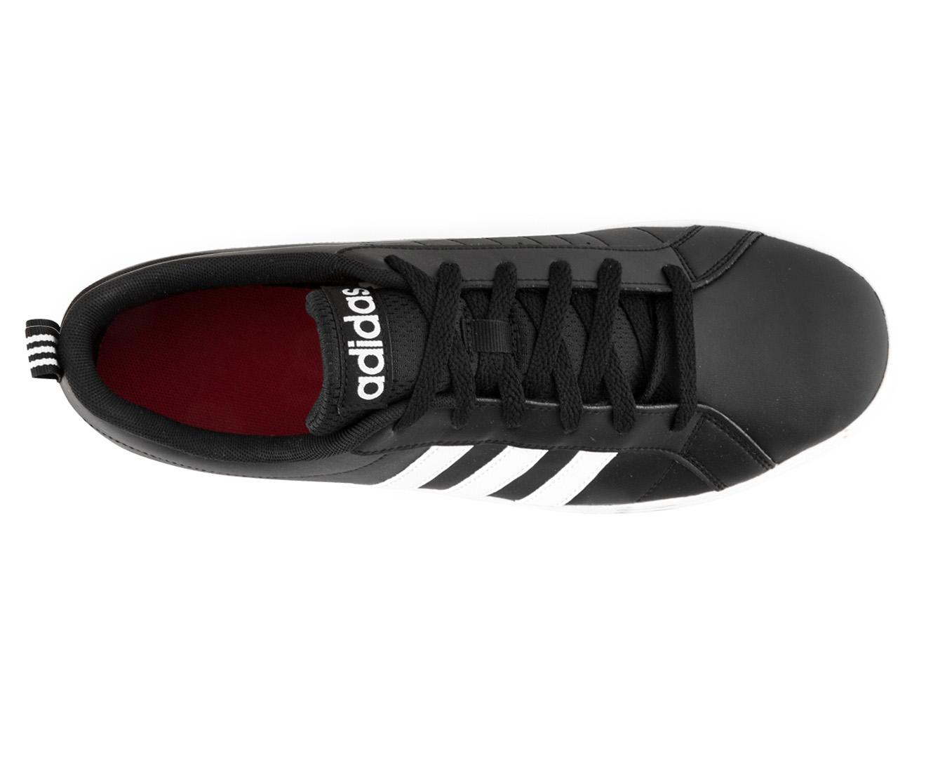 2c329b91909 Adidas NEO Men s VS Pace Leather Shoe - Black White Scarlet