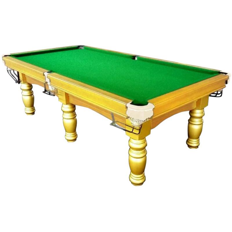 Pub Size Pool Table 8ft Slate Billiard Snooker Table Green