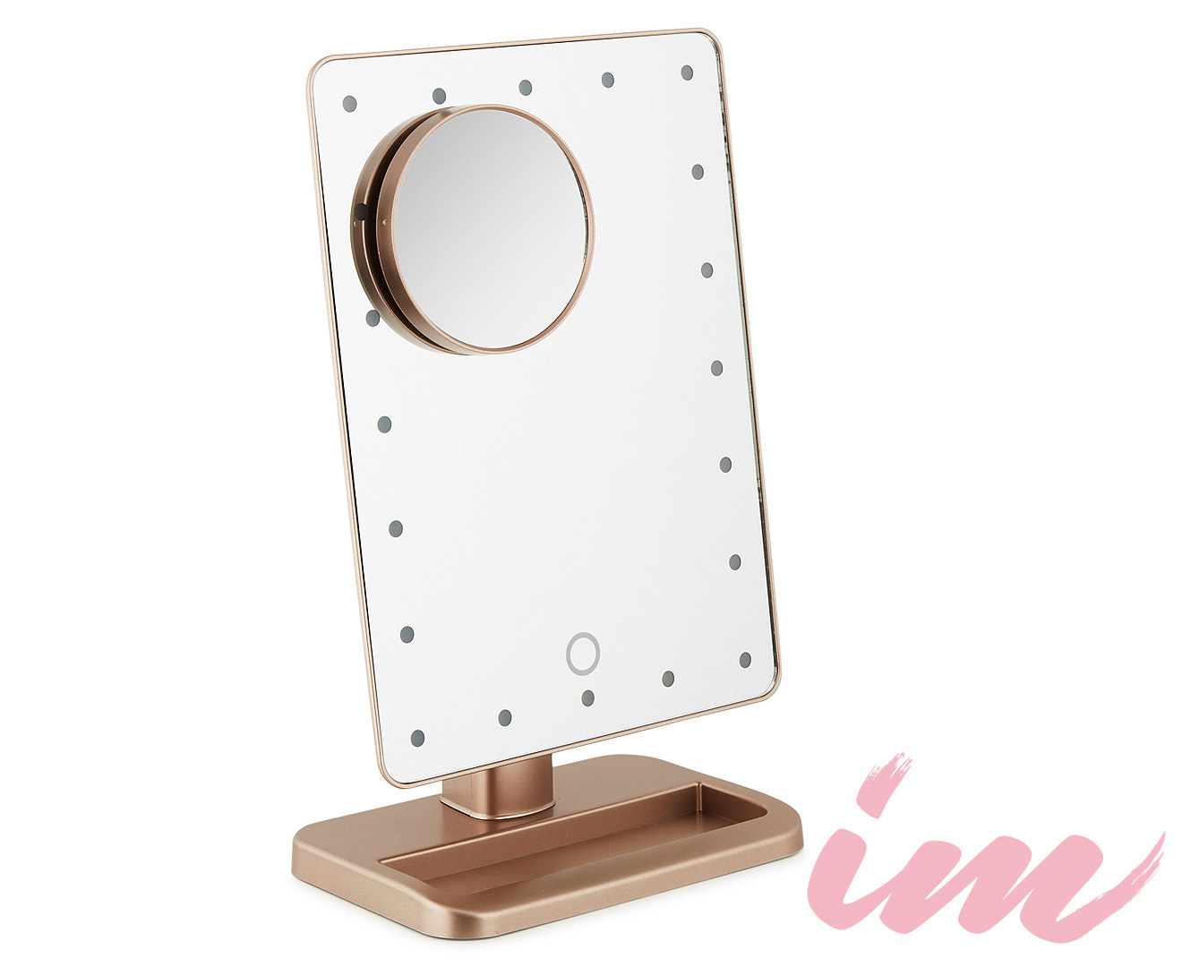 Illuminate Me Led Dimmable Makeup Mirror Rose Gold