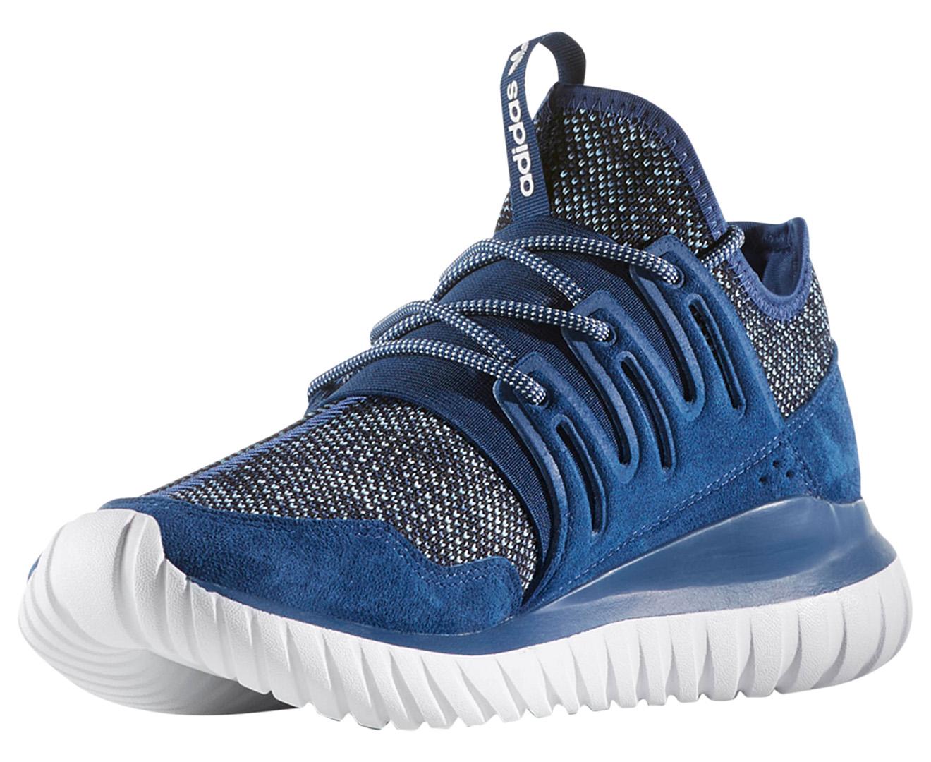 Adidas Originals Men S Tubular Radial Shoe Mystery Blue