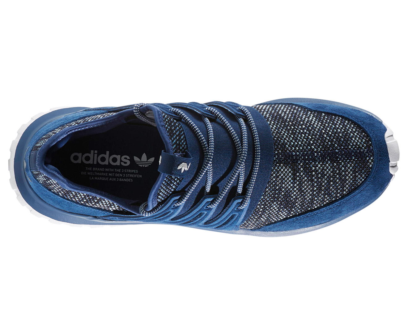 Adidas Originals Men S Tubular Radial Shoe Mystery Blue