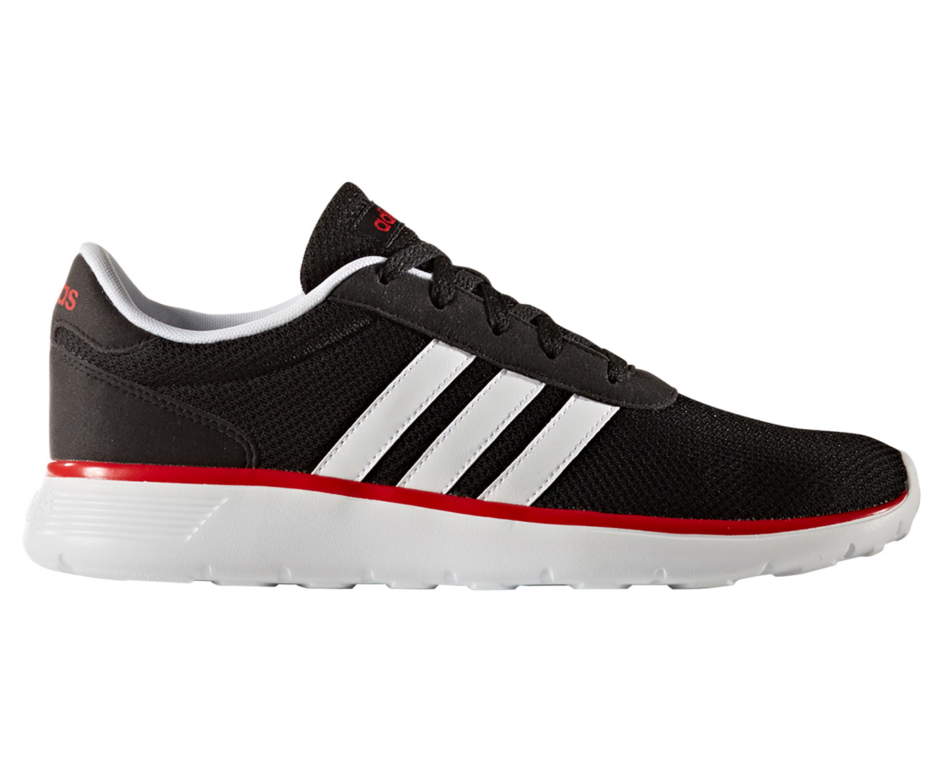 adidas cloudfoam red and black