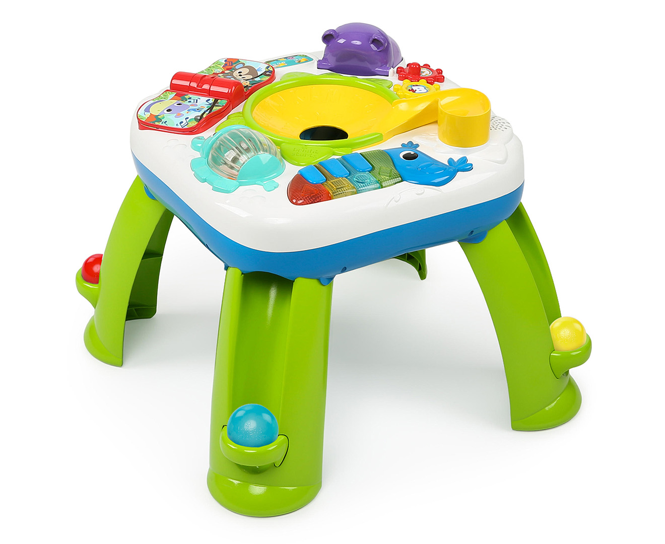 bright starts having a ball activity table 74451107342 ebay. Black Bedroom Furniture Sets. Home Design Ideas