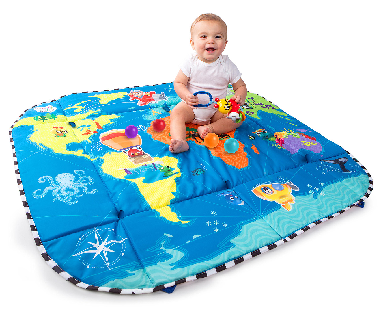 070d0dbe5 Baby Einstein 5-in-1 World Of Discovery Learning Gym - Multi