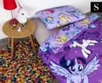 My Little Pony Reversible Single Bed Quilt Cover Set - Multi 1