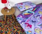 My Little Pony Reversible Single Bed Quilt Cover Set - Multi 2