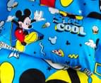 Disney Mickey Mouse Reversible Single Bed Quilt Cover Set - Multi 4