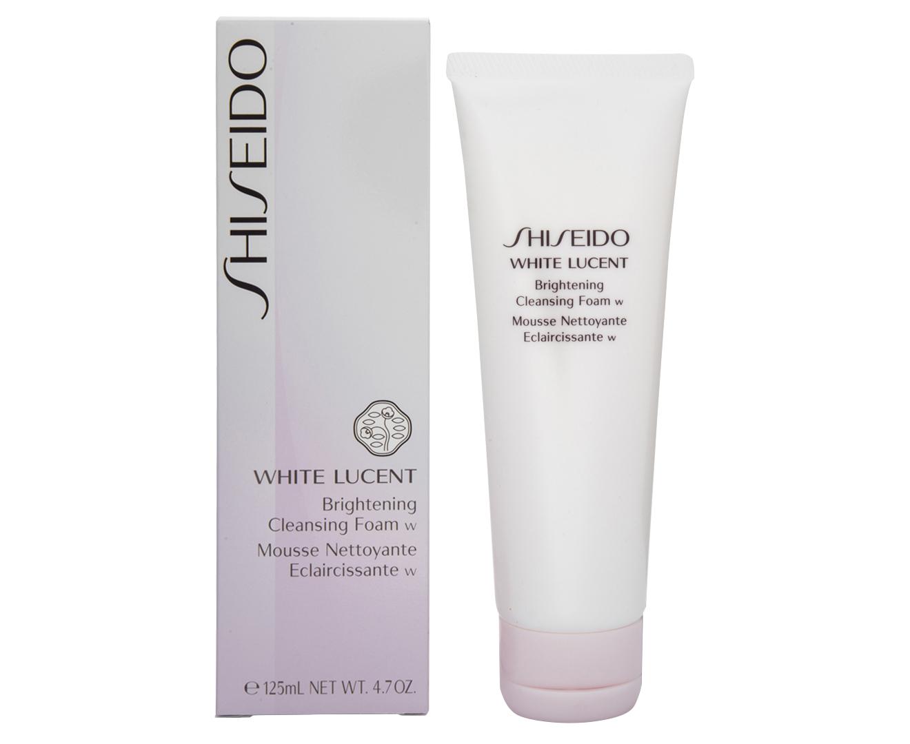 Shiseido White Lucent Brightening Cleansing Foam 125mL ...