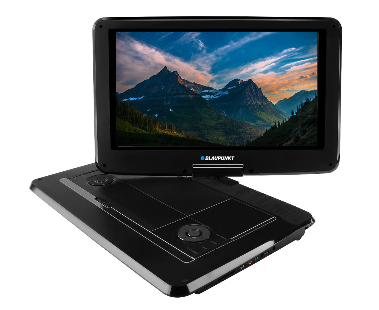 blaupunkt portable 14 dvd player black. Black Bedroom Furniture Sets. Home Design Ideas