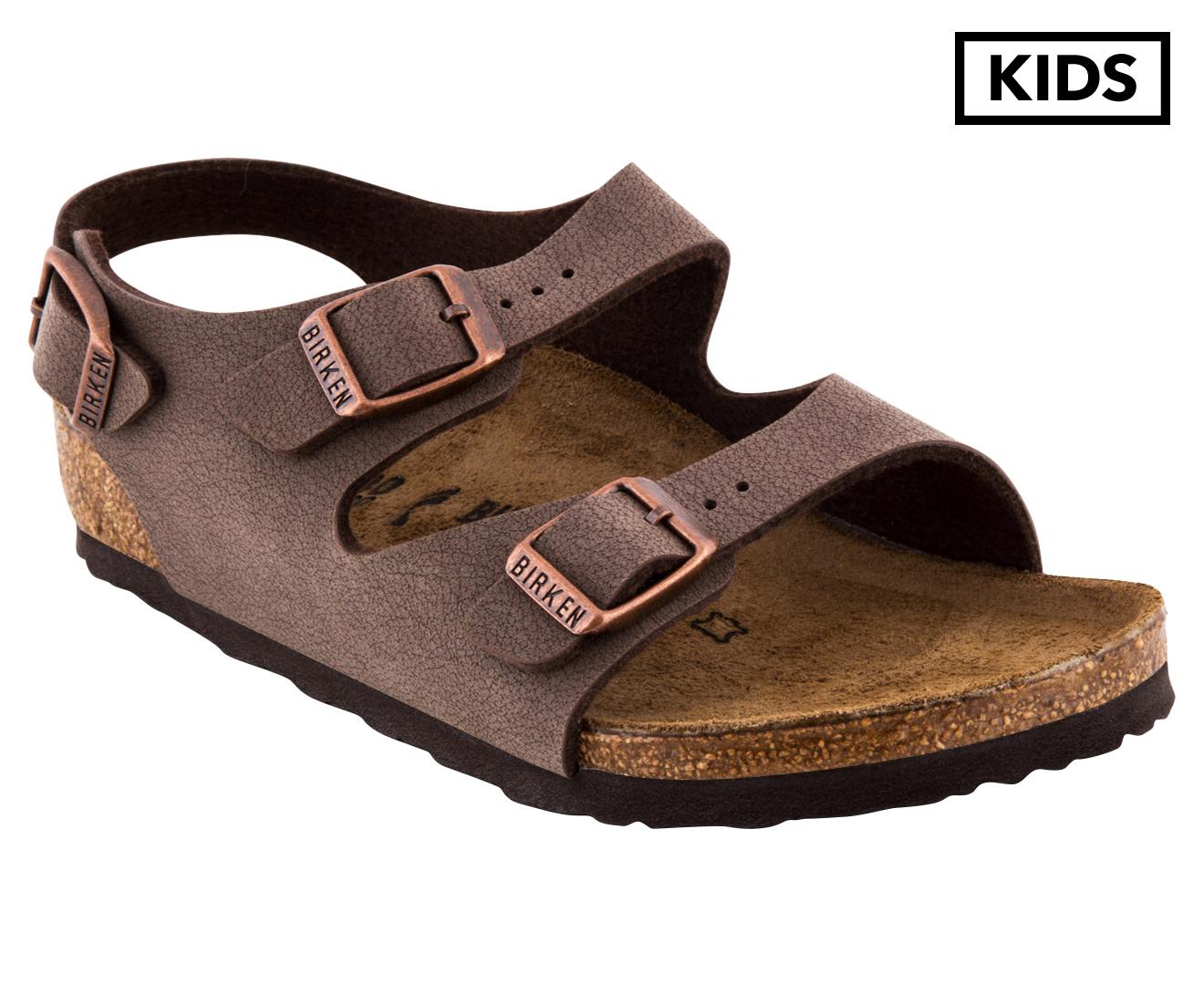 fa1b6c3e29e3 Birkenstock Kids  Narrow Fit Roma Sandal - Mocha