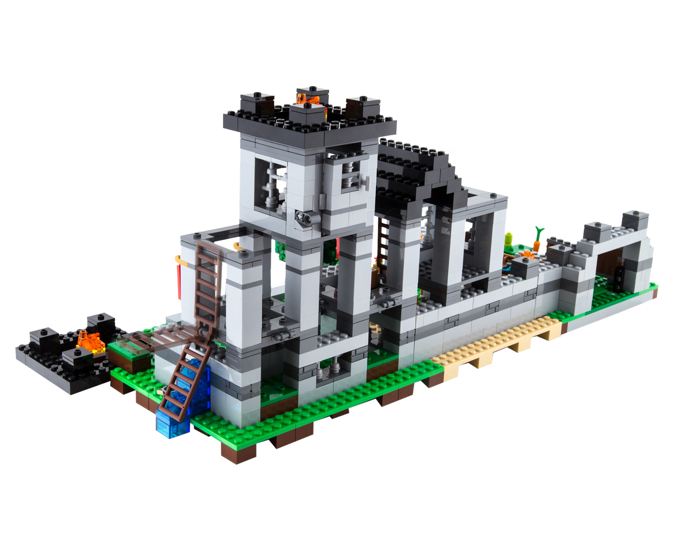 Lego minecraft the fortress building set ebay for Fortress build