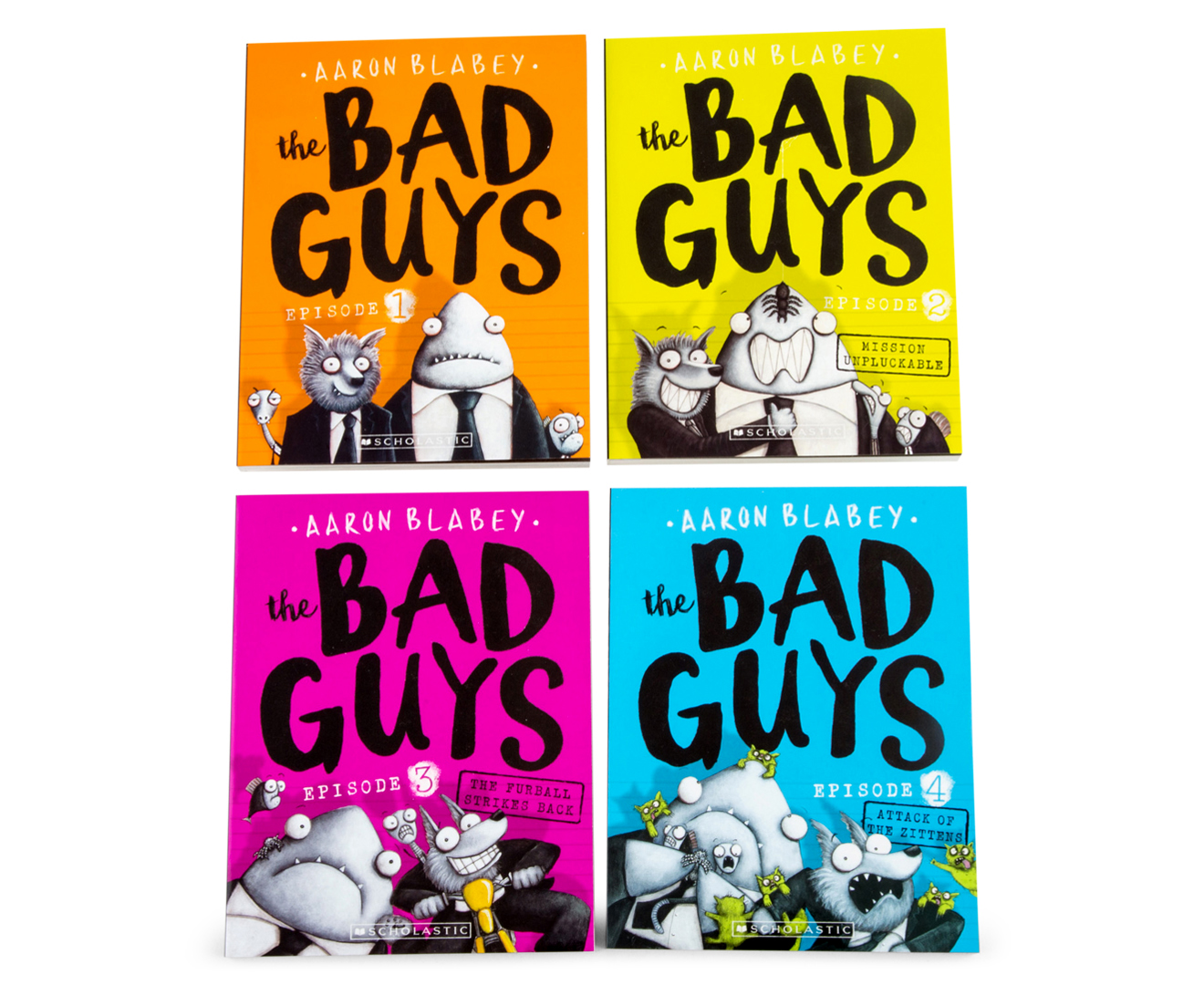 The Bad Guys Box Book Set Catch Com Au