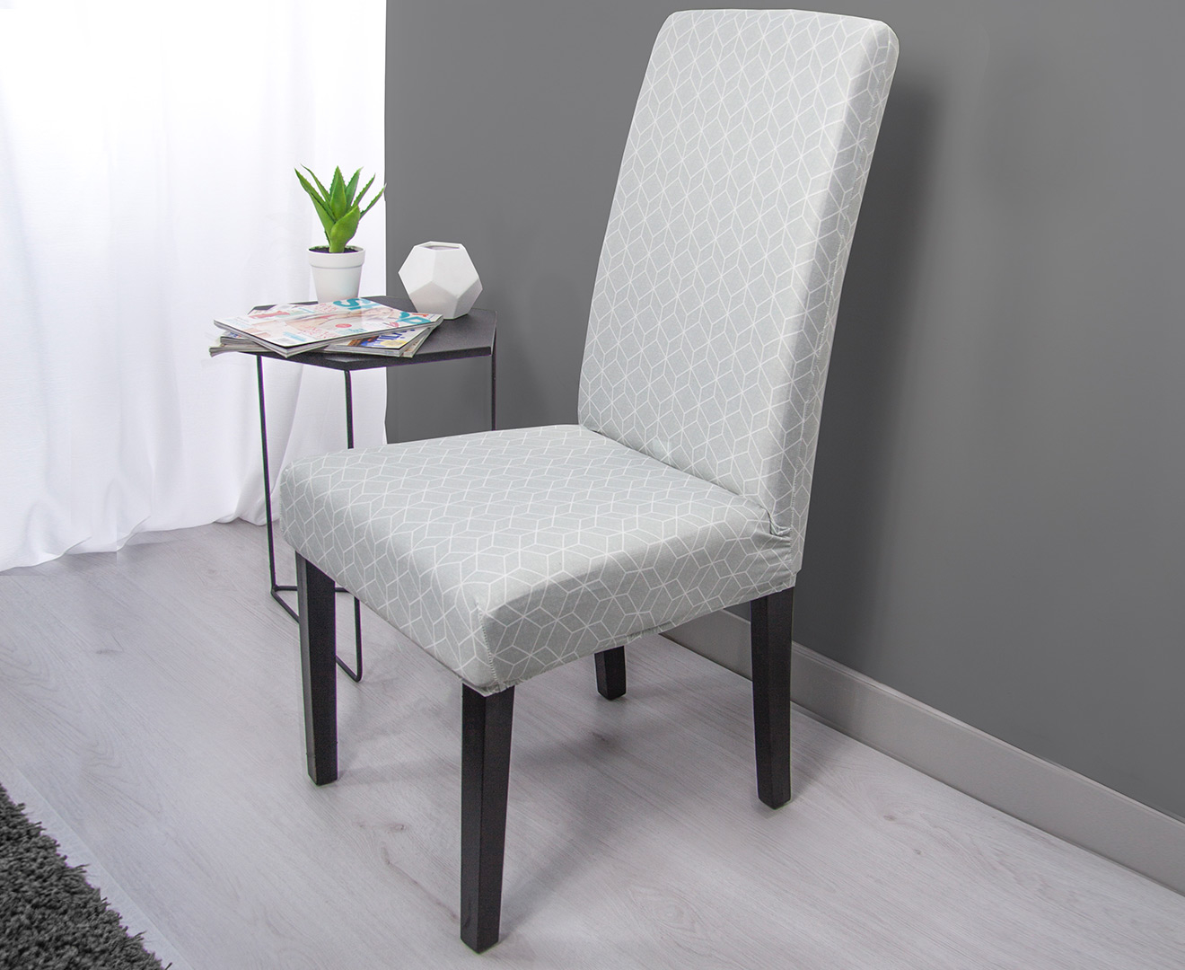 Sure Fit Statement Print Klara Dining Chair Cover