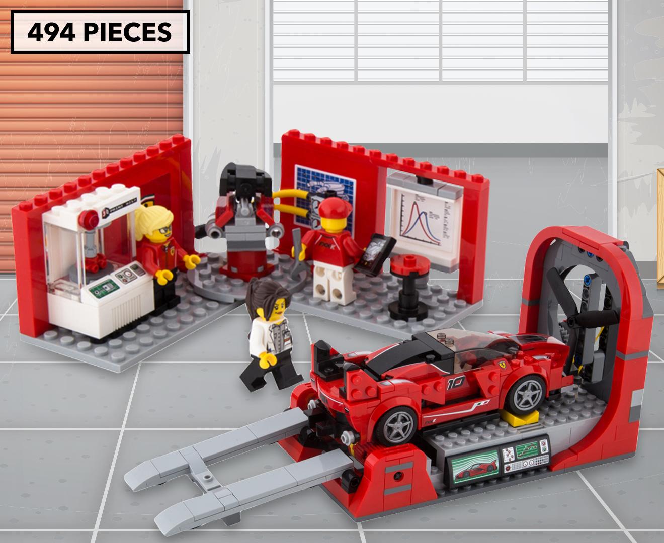 LEGO® Speed Champions Ferrari FXX K & Development Center Building Set | eBay