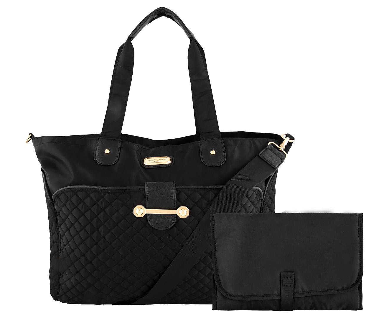 1631ac2f06c Kardashian Kids Nappy Bag - Black | Catch.com.au