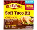 2 x Old El Paso Soft Taco Kit Mild 405g 2