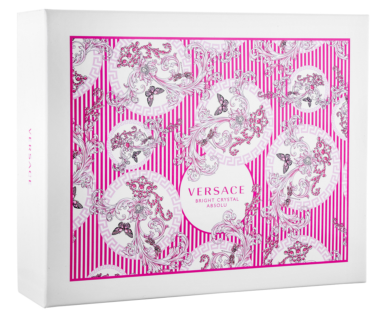 versace bright crystal absolu edp 3 piece gift set ebay. Black Bedroom Furniture Sets. Home Design Ideas