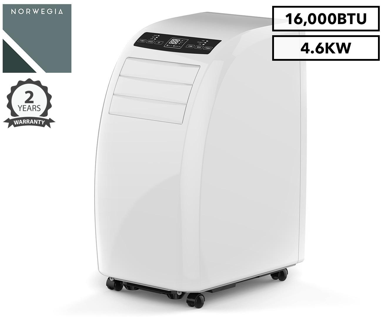 Superbe Norwegia 4.6kW Portable Air Conditioner (16,000BTU) | Catch.com.au