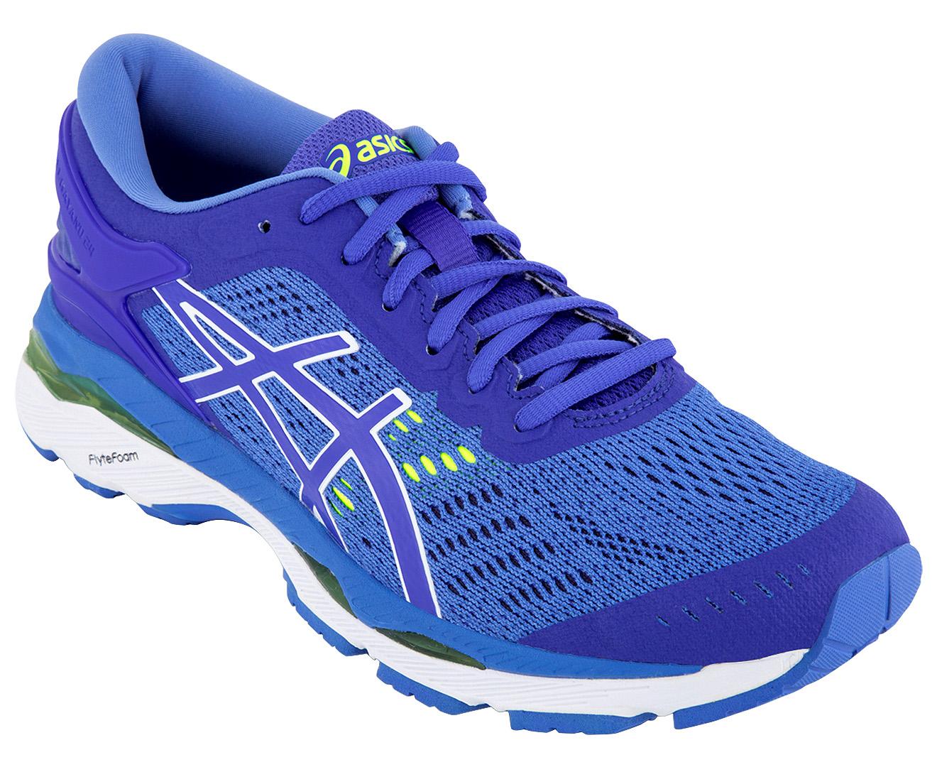 Asics Women S Gel Kayano 24 Shoe Purple Regatta Blue