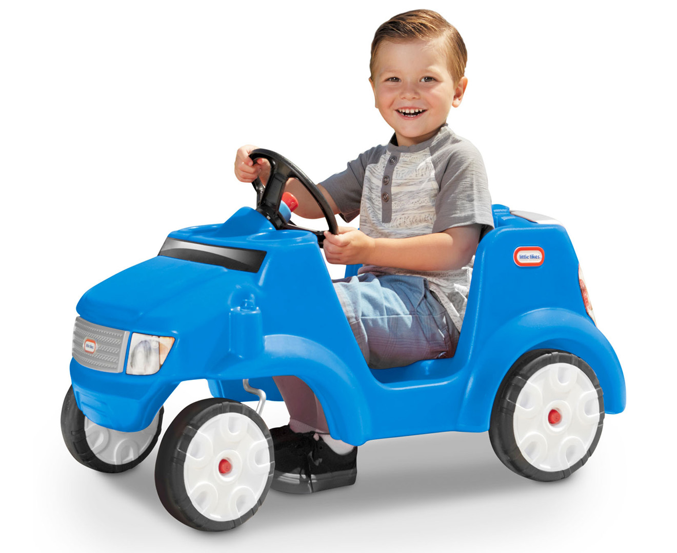 Little Tikes Quiet Drive Buggy Blue Scoopon Shopping