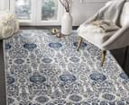 Rug Culture 330x240cm Mirage 350 Modern Rug - Navy/Grey 5