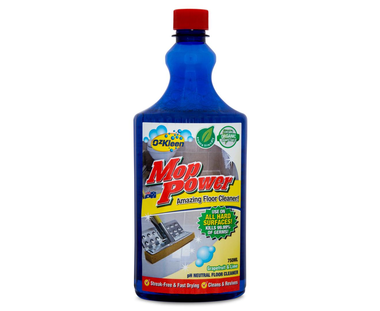 Ozkleen Mop Power Anti Bacterial Floor Cleaner 750ml