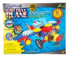 The Learning Journey Techno Gears Aero Trax Plane Construction Set video