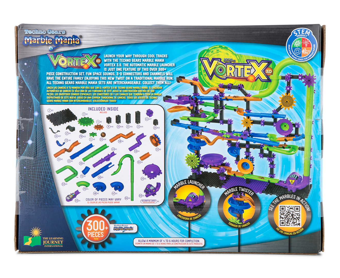 The Learning Journey Techno Gears Marble Mania Vortex 3 0