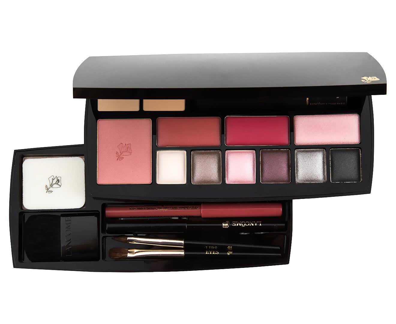 lanc me absolu voyage complete expert makeup palette ebay. Black Bedroom Furniture Sets. Home Design Ideas