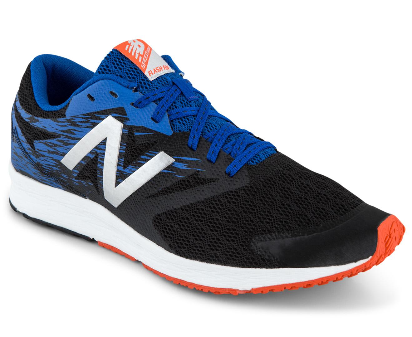 New Balance Men S Flash Running Shoe Black Team Royal