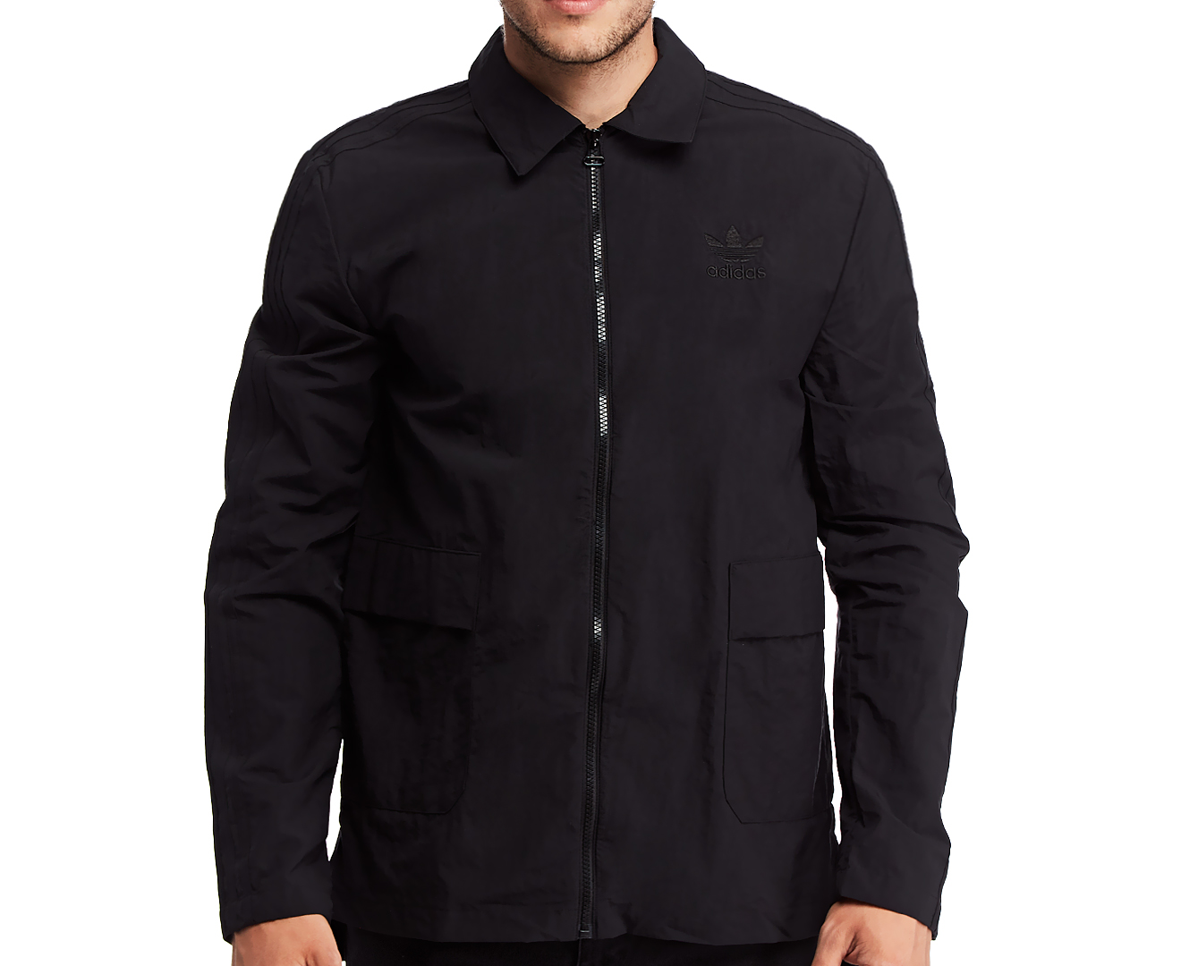 Adidas Originals Men's NYC Coach Jacket Black   .au