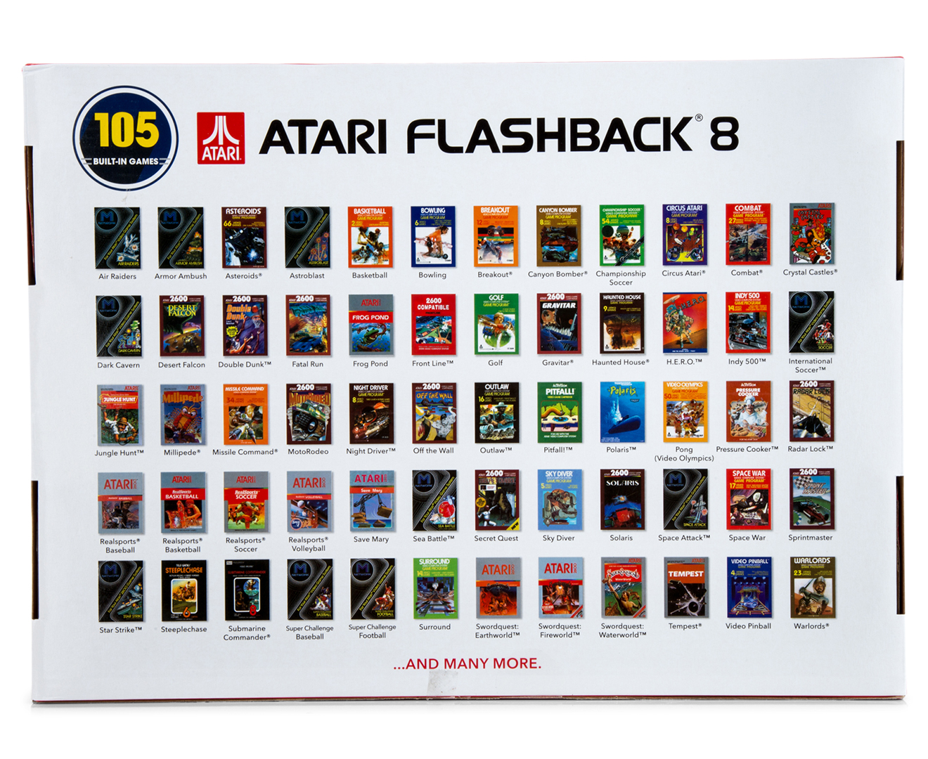 💐 Atari flashback 7 game list