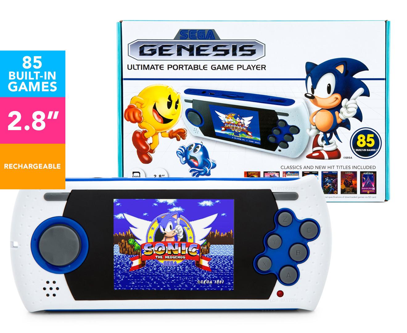 Video Game Console Sega Genesis Ultimate Portable Game ...