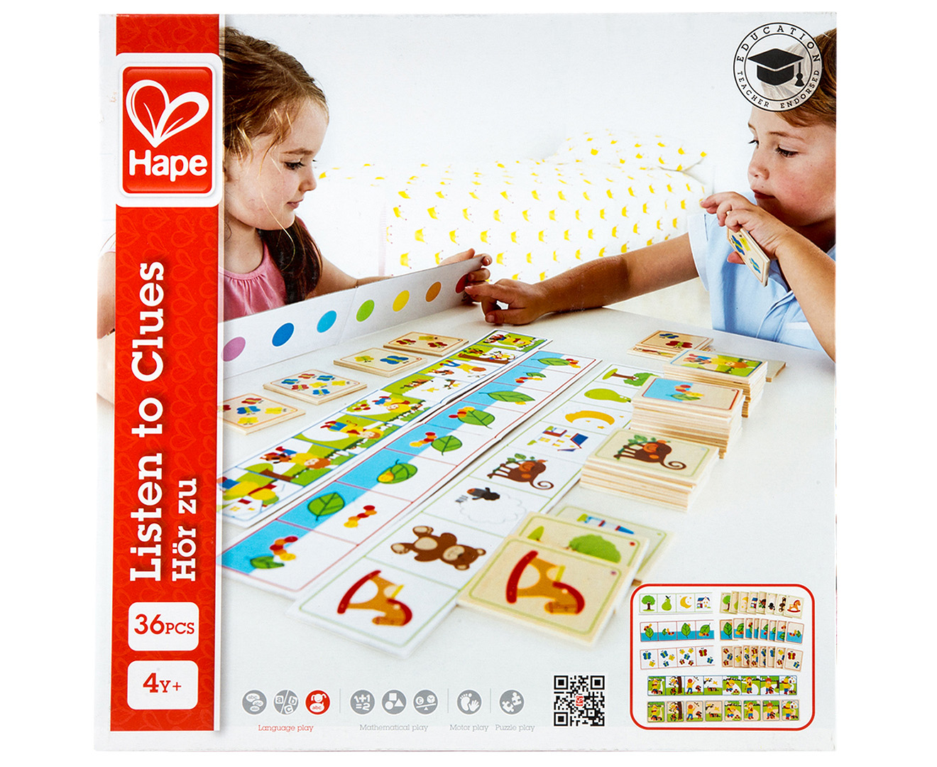 Hape Listen To Clues Game | CatchOfTheDay.co.nz