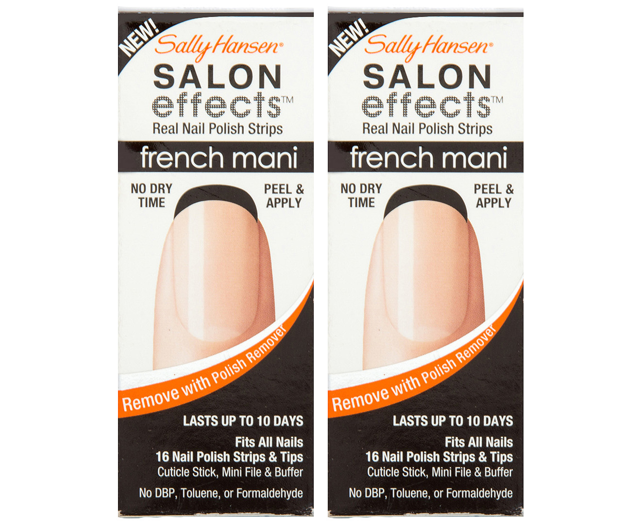 French Manicure Nail Polish Strips Hession Hairdressing Sticker Strip
