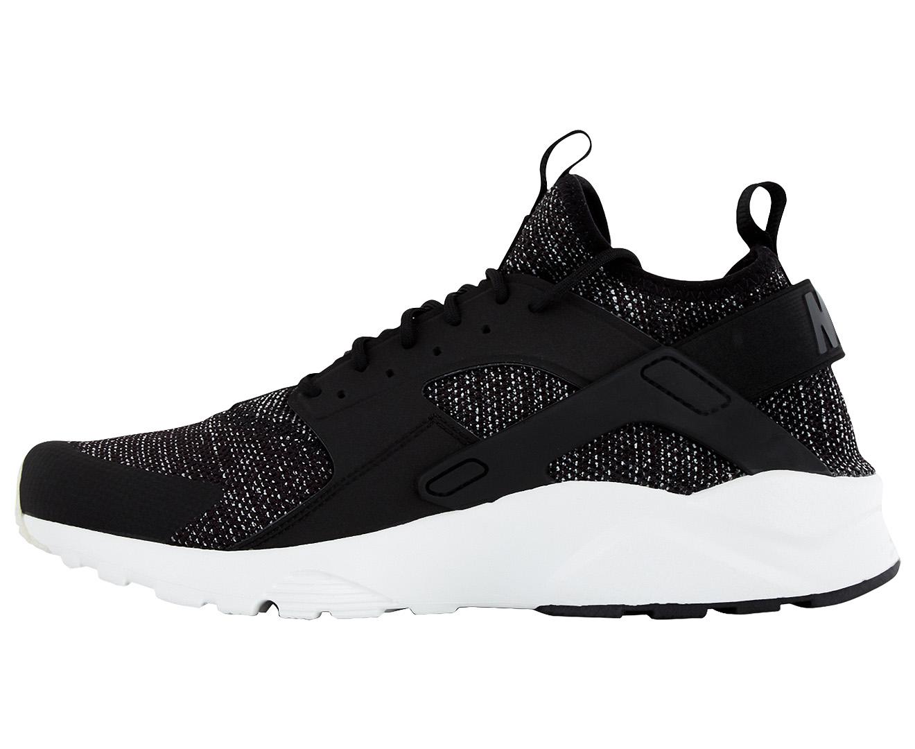 new concept f2457 0da54 Nike Men s Air Huarache Run Ultra Breathe Shoe - Black Black-Summit White    Scoopon Shopping