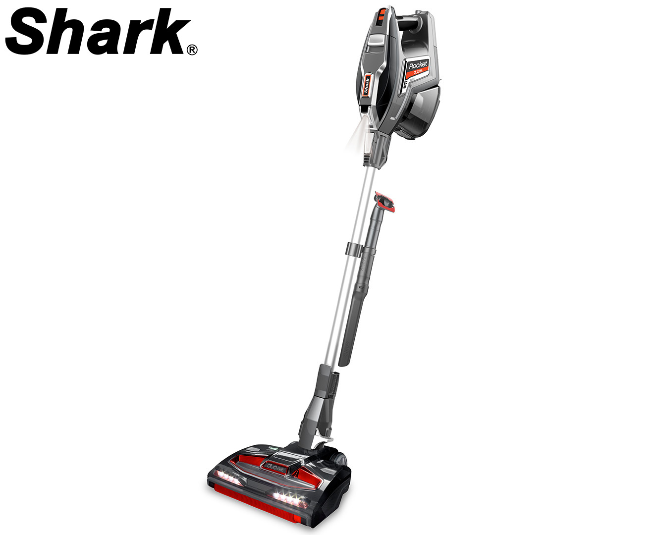 Shark Rocket Duoclean Vacuum Cleaner Red Great Daily