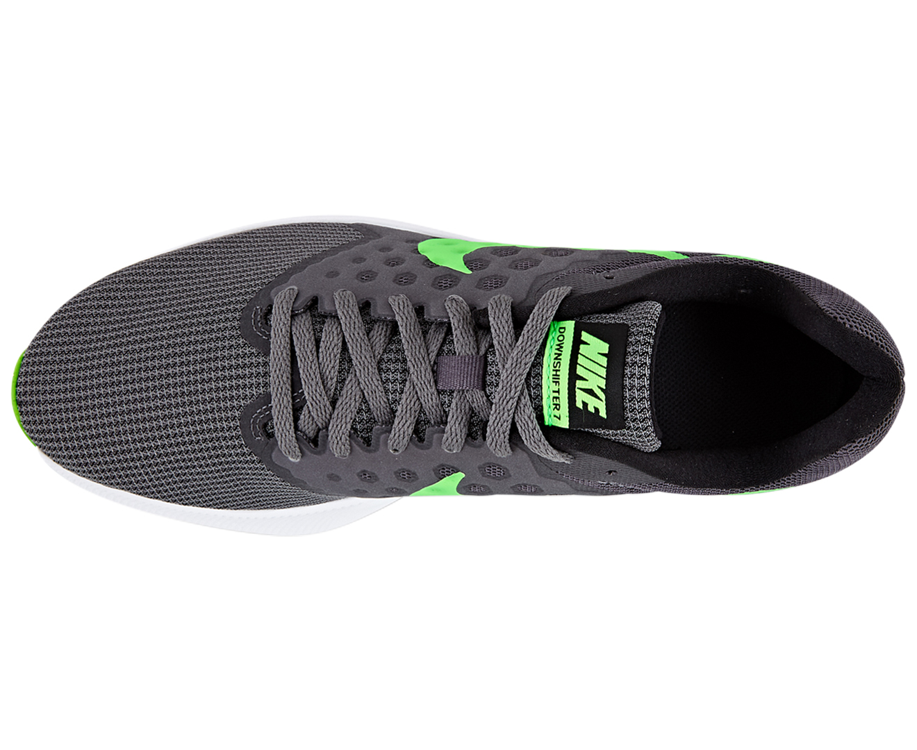 Nike Men's Downshifter 7 Shoe - Dark Grey/Rage Green-White | Great daily  deals at Australia's favourite superstore | Catch.com.au
