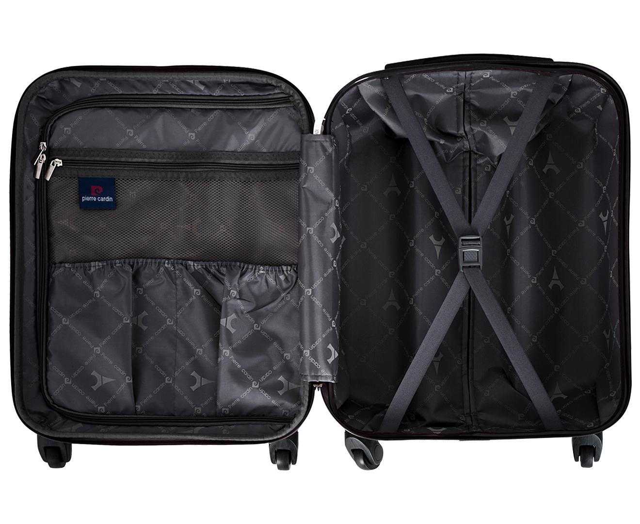 50694ab639c4 Pierre Cardin Mobile Office Cabin Case 4W Luggage - Purple