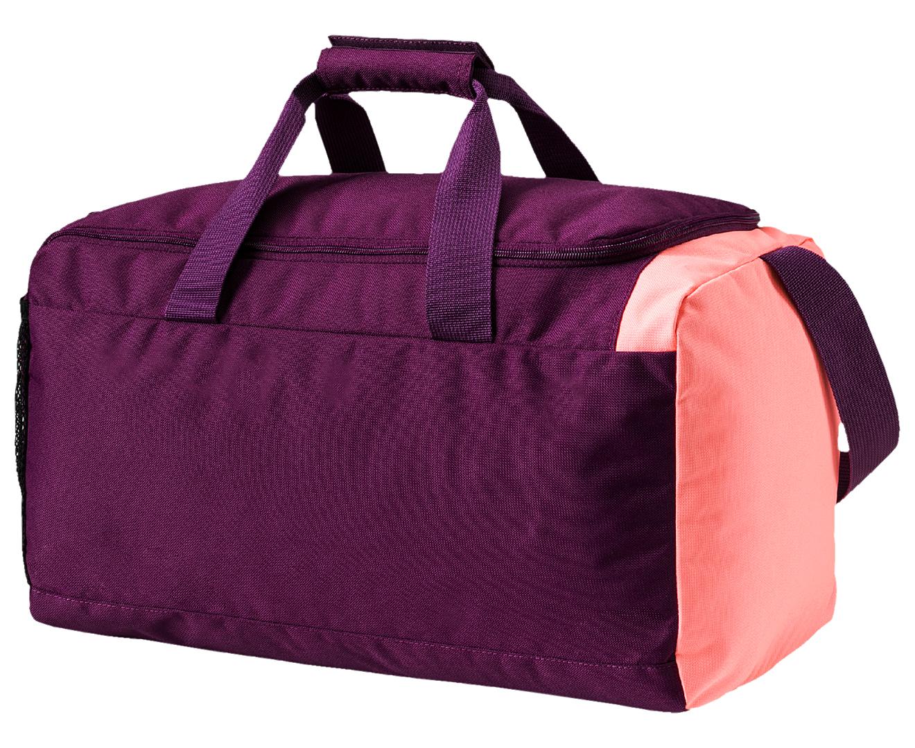 e1ee92ea0f Puma Fundamentals Sports Bag Small - Dark Purple