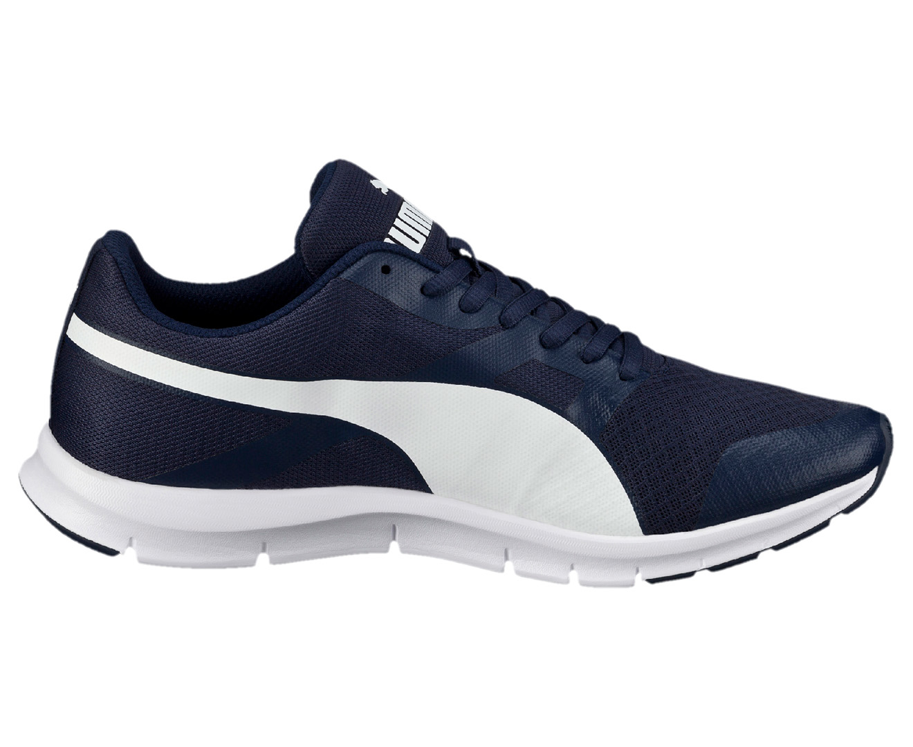 Puma Men's Flexracer Running Shoe PeacoatWhite