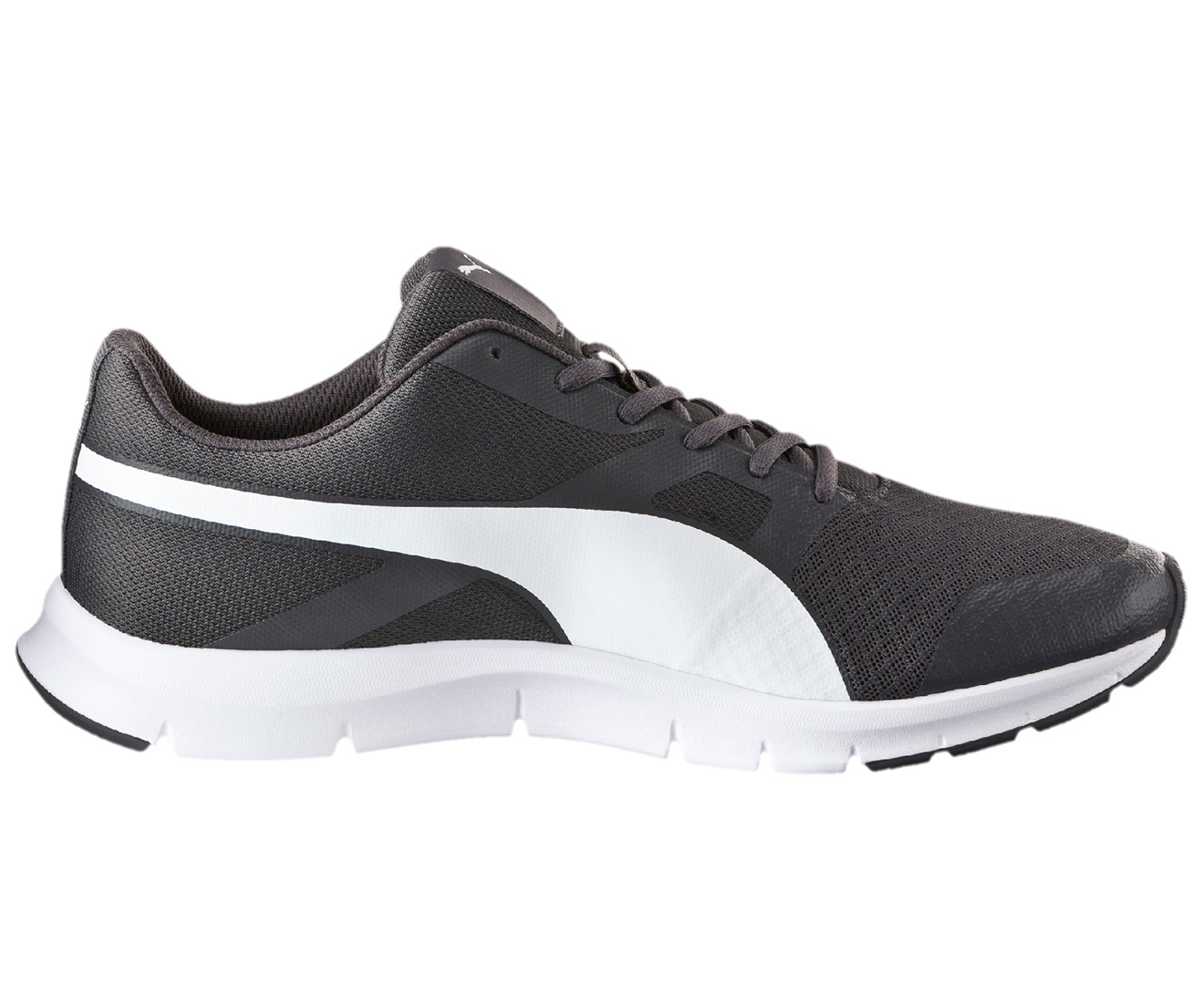 Puma Men's Flexracer Running Shoe AsphaltWhite